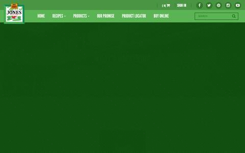 Screenshot of Press Page jonesdairyfarm.com - News & Events | Jones - captured Jan. 9, 2016