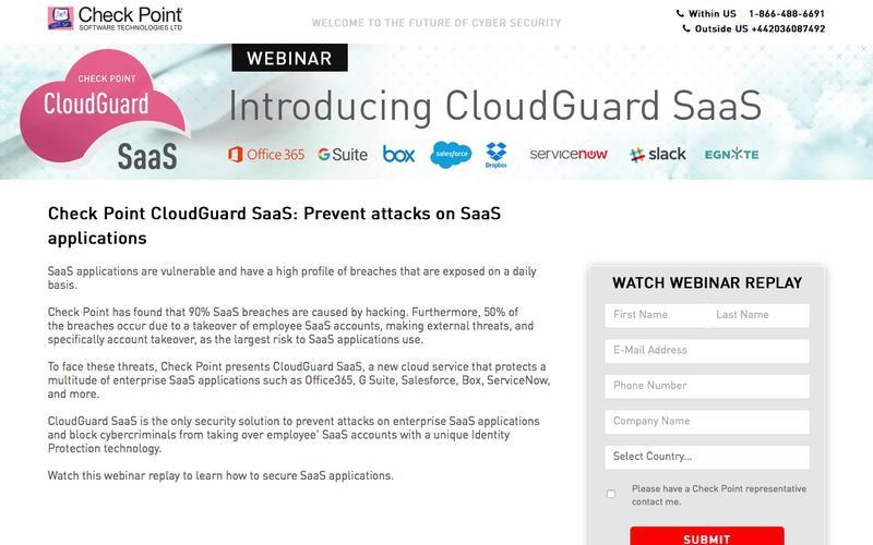 Introducing CloudGuard SaaS