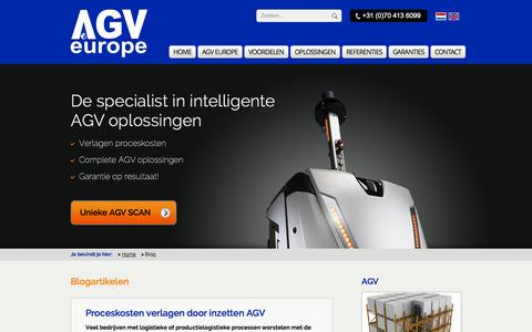 Screenshot of Blog agveurope.com - Blog | AGV Europe - captured Oct. 4, 2014
