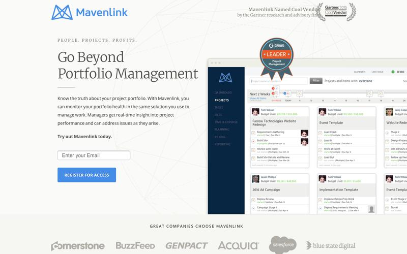 Project Portfolio Management Software |  Mavenlink