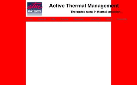 Screenshot of Products Page activethermal.com - home theater cooling - captured Nov. 20, 2016