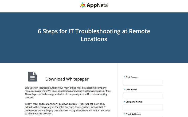 6 Steps for IT Troubleshooting at Remote Locations