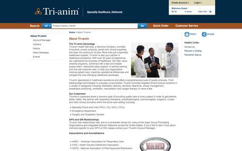 Screenshot of About Page tri-anim.com - About Tri-anim | Tri-anim - captured March 4, 2016