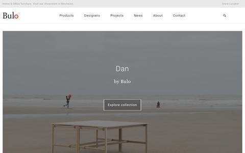 Screenshot of Home Page bulo.com - Homepage – Bulo - captured June 3, 2017