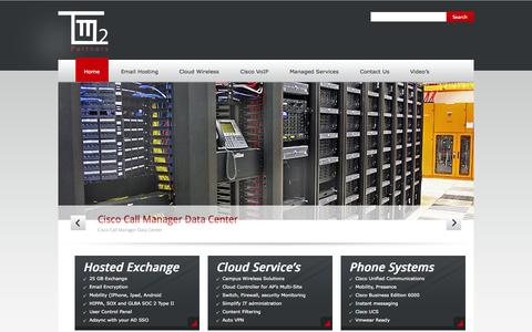 Screenshot of Home Page tm2partners.com - TM2 Partners | Experts in Managed Services ,Meraki Wireless, Networking, Vmware, Cisco VoIP - captured Sept. 30, 2014