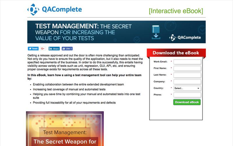 Test Management: The Secret Weapon for Increasing the Value of Your Tests|QAComplete