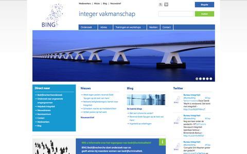 BING (Bureau Integriteit Nederlandse Gemeenten)