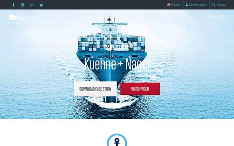 Screenshot of Case Studies Page virginpulse.com - Kuehne + Nagel   Virgin Pulse - captured July 31, 2018