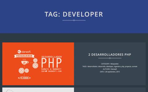 Screenshot of Developers Page darwoft.com - Darwoft | developer | - captured Jan. 7, 2016