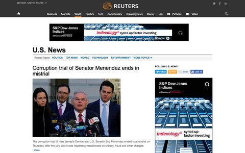 U.S. News  | Reuters