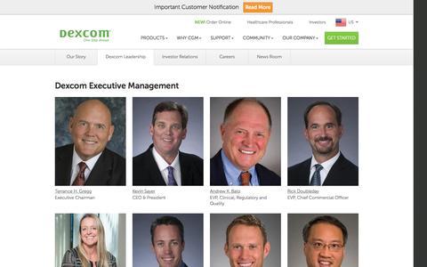 Dexcom Leadership | Dexcom