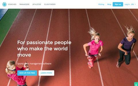 Screenshot of Testimonials Page sportlyzer.com - The catalyst for building efficient sports clubs | Sportlyzer - captured Aug. 11, 2015