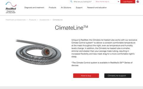 ClimateLine | ResMed