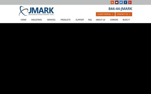 JMARK я IT Support and IT Services that Produce Positive Business Outcomes