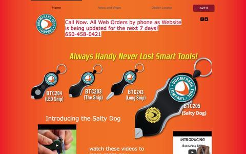 Screenshot of Terms Page boomerangtool.com - Boomerang SNIP - captured Oct. 5, 2014
