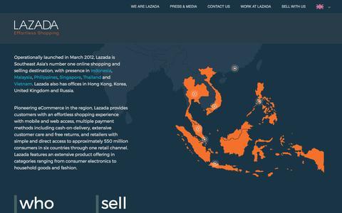 Home page (EN) | lazadacom