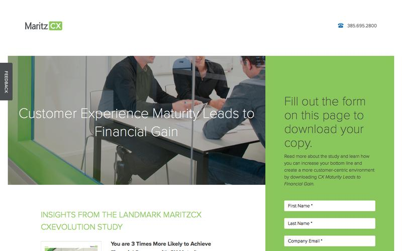 Customer Experience Maturity Leads to Financial Gain | MaritzCX