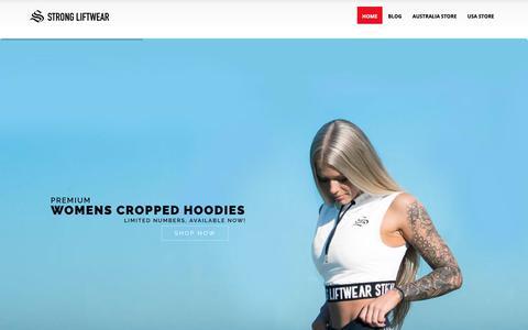 Screenshot of Blog strongliftwear.com - Strong LiftWear – Blog, News, Articles - captured Oct. 19, 2018