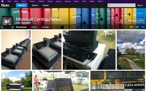 Screenshot of Flickr Page flickr.com - Flickr: Micros of Central Florida's Photostream - captured Oct. 23, 2014