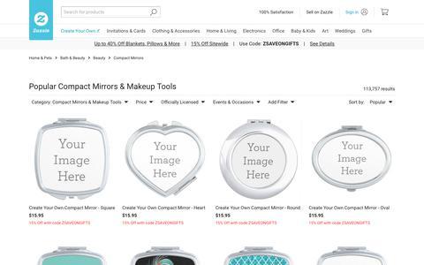 Compact Mirrors & Makeup Tools | Zazzle