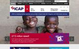 New Screenshot ICAP Home Page