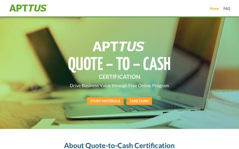 Quote-to-Cash Certification - Free Business Qualification Program