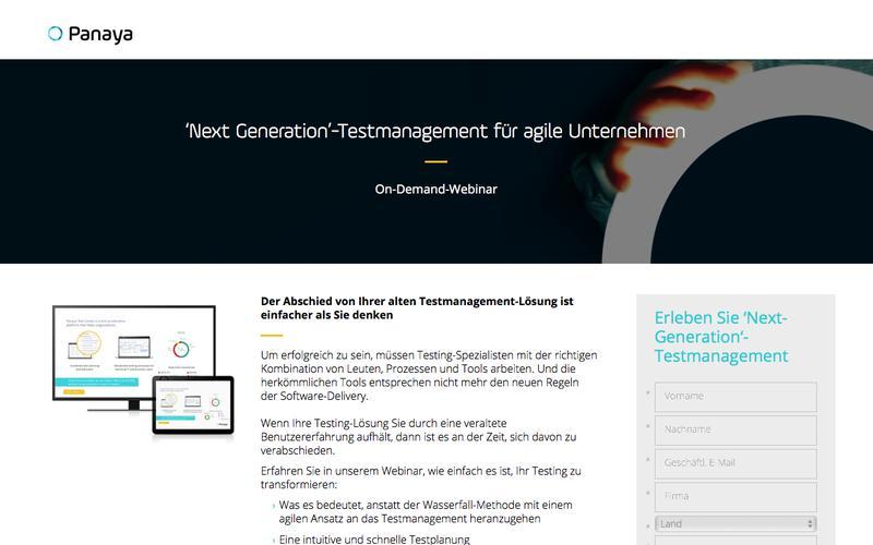 Next Generation-Testmanagement für agile Unternehmen – Webinar