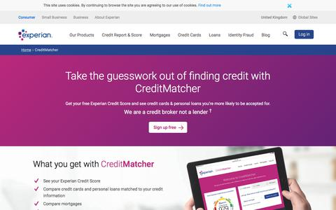 Loans, Credit Cards And Mortgages Matched To You | CreditMatcher