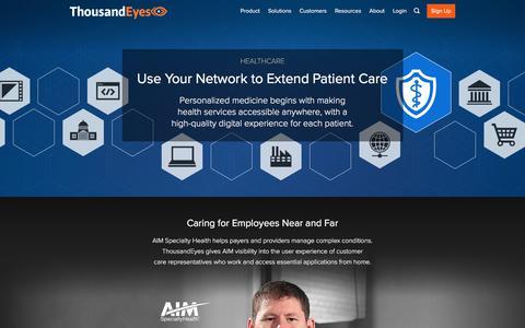 Healthcare | Network Monitoring Case Studies