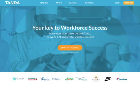 Time & Attendance Software | Workforce Success System | Tanda