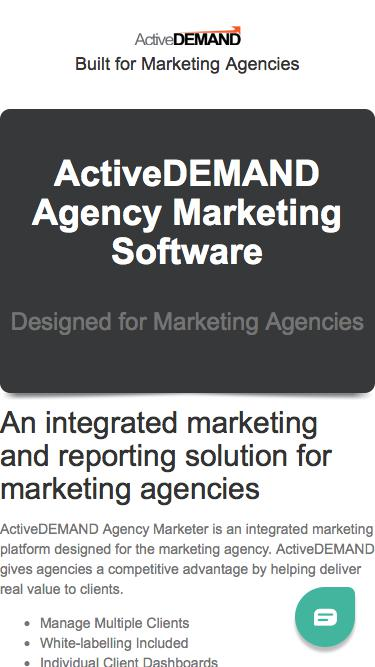 Agency Marketer Trial