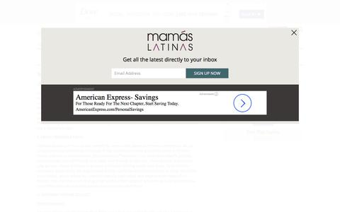 Screenshot of About Page Privacy Page mamaslatinas.com - Privacy Policy - captured Nov. 11, 2016
