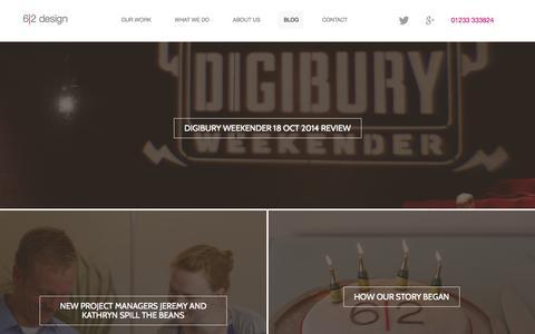 Screenshot of Blog 62design.co.uk - Blog - 6-2 design - captured Nov. 5, 2014