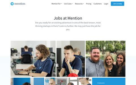 Work With Us! | Careers at Mention