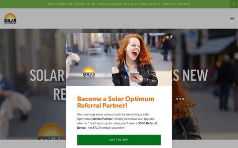 Screenshot of Blog solaroptimum.com - Solar Optimum - Blog - captured Nov. 11, 2017