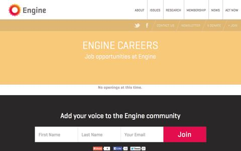 Screenshot of Jobs Page engine.is - Engine —   Careers - captured Oct. 2, 2014