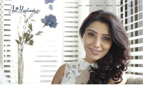 Screenshot of Home Page jaimadaan.com - World Famous Astrologer & Vastu Expert Dr. Jai Madaan (Hon.) - captured Aug. 7, 2016