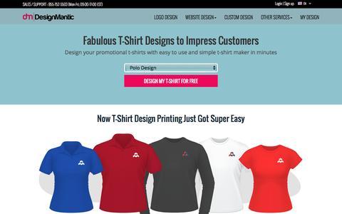 Fabulous T-shirt Design Maker by DesignMantic