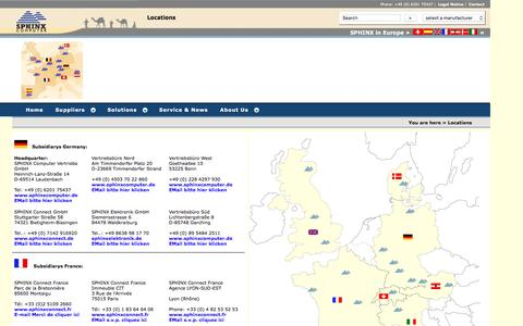 Screenshot of Locations Page power-management.eu - Locations - captured April 8, 2016
