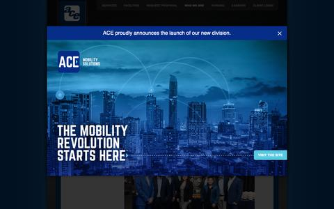 Screenshot of Blog aceparking.com - News, Alerts, and Updates from Ace Parking Management | Ace Parking Management, Inc. - captured Feb. 12, 2019