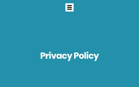Screenshot of Privacy Page wearetheworks.com - Privacy Policy - The Works Creative, Design & Digital Agency Durham - captured May 30, 2019