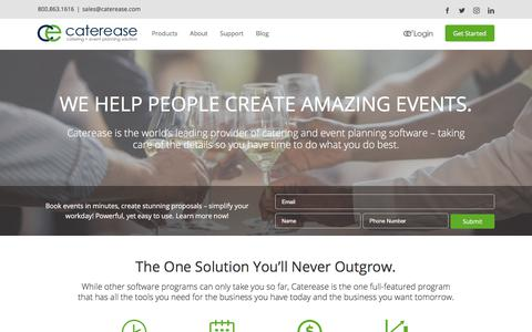 The World's Best Catering Software | Caterease