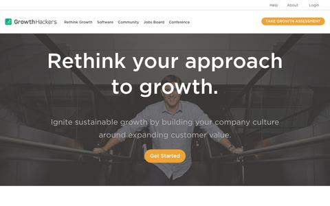 Helping teams unlock their company's full growth potential through a combination of software, services and community. - GrowthHackers