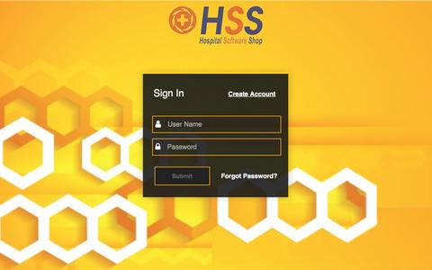 Screenshot of Login Page hospitalsoftwareshop.com - HospitalSoftwareShop - India's First Online Shop for Software for Hospitals, Doctors Clinic, Laboratories - captured May 21, 2017