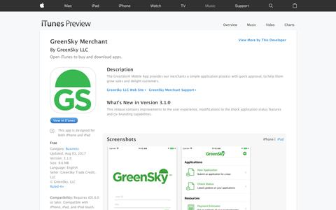 GreenSky Merchant on the App Store