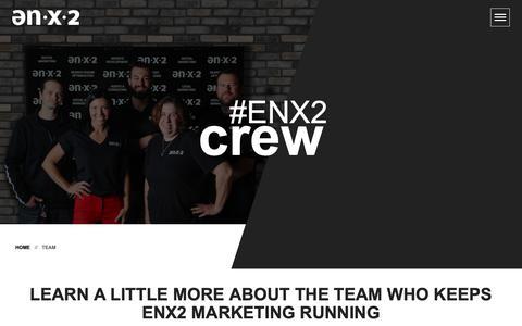 Screenshot of Team Page enx2marketing.com - Meet the ENX2 Crew | Legal Marketing Experts | ENX2 Marketing - captured Nov. 9, 2018