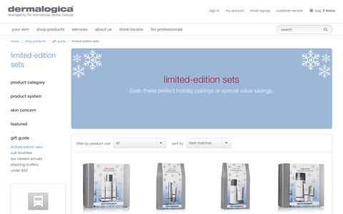 Limited Edition Sets and Skin Kits, Holiday Skin Care Kits | Dermalogica®