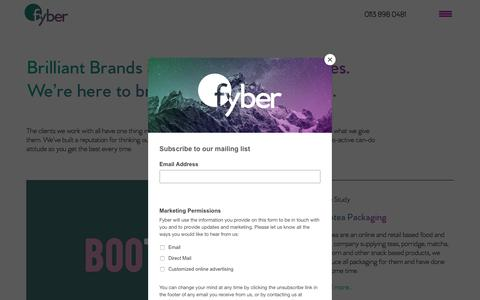 Screenshot of Team Page fyber.co.uk - Fyber   All Aspects of Physical and Digital Marketing - captured May 23, 2018