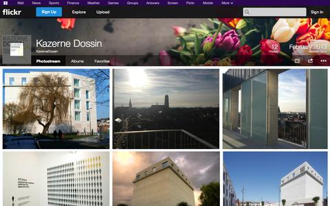 Screenshot of Flickr Page flickr.com - Flickr: KazerneDossin's Photostream - captured Oct. 26, 2014