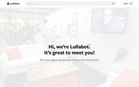 Strategy, Design, Development | Lullabot